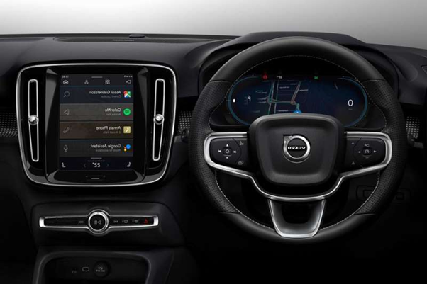 The Upcoming Volvo XC40 to have Google's Inbuilt features and other play store function